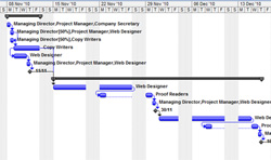 Gantt Chart in Microsoft Project